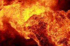 Pared del fuego Fotografía de archivo libre de regalías
