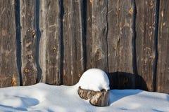 Pared del granero Imagen de archivo libre de regalías