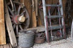 Pared del granero Fotos de archivo libres de regalías
