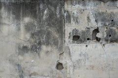 Pared del Grunge, muro de cemento viejo Imagen de archivo libre de regalías