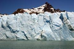 Pared del hielo Imagenes de archivo