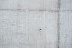Pared del hormigón monolítico Foto de archivo libre de regalías