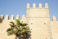 Pared del Kasbah en Rabat, Marruecos Fotos de archivo