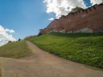Pared del Kremlin Imagen de archivo libre de regalías
