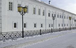 Pared del monasterio Imagen de archivo