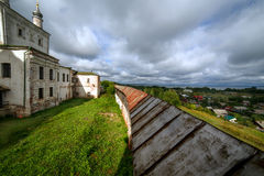 Pared del monasterio fotografía de archivo libre de regalías