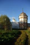 Pared del monasterio en Suzdal Fotografía de archivo libre de regalías