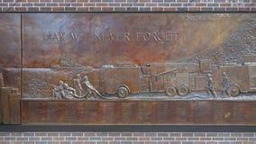 Pared del monumento de FDNY Fotos de archivo libres de regalías