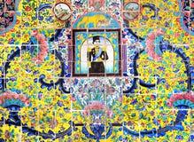 Pared del mosaico Imágenes de archivo libres de regalías