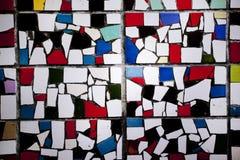 Pared del mosaico con textura del color de de stajl Fotografía de archivo libre de regalías