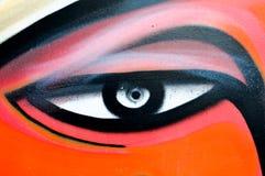 Pared del ojo Imagen de archivo