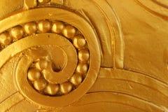 Pared del oro Foto de archivo