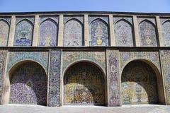 Pared del palacio Fotos de archivo libres de regalías