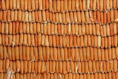 Pared del personal del maíz Imágenes de archivo libres de regalías