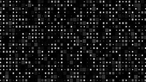 Pared del pixel que destella ilustración del vector