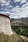 Pared del Potala Imagen de archivo