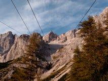 Pared del sur de Dachstein Fotos de archivo libres de regalías