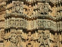 Pared del templo Fotografía de archivo libre de regalías