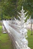 Pared del templo blanco imagen de archivo libre de regalías