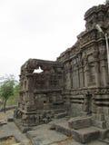 Pared del templo indio antiguo Foto de archivo libre de regalías