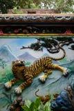 Pared del tigre Fotos de archivo