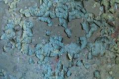 Pared desigual Pintura de Oblessa La textura en la pared Imagen de archivo libre de regalías