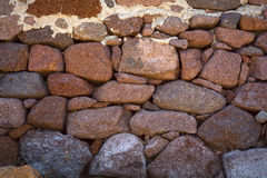 Pared Drystone Fotos de archivo libres de regalías