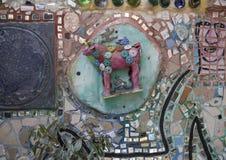 Pared en jardines mágicos de Isaiah Zagar, Philadelphia Fotografía de archivo libre de regalías
