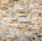 Pared en la torre de Qutub Minar fotos de archivo libres de regalías