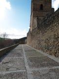 Pared española de la fortaleza Imagen de archivo libre de regalías