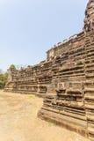 Pared exterior del templo de Phuon de los vagos, Angkor Thom, Siem Reap, Camboya Fotos de archivo libres de regalías