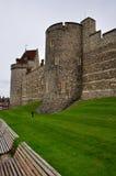 Pared externa del castillo de Windsor Imagen de archivo libre de regalías