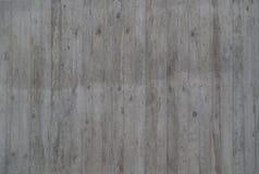 Pared gris concreta con la textura de madera del tablón imagen de archivo