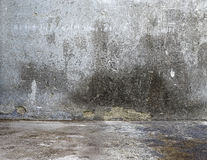 Pared gris de la estructura concreta del fondo Fotos de archivo libres de regalías