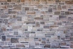 Pared gris de la roca Fotos de archivo libres de regalías