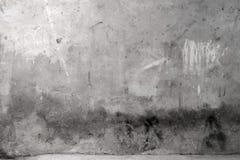 Pared gris del cemento de Grunge Fotografía de archivo libre de regalías