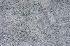 Pared gris del estuco Imagen de archivo