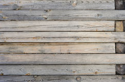 Pared hecha de la madera Fondo de madera de la textura del tablón fotos de archivo