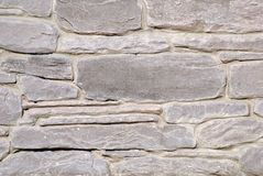 Pared hecha de piedra Foto de archivo