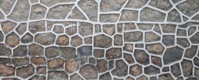 Pared hecha de piedras Imagen de archivo