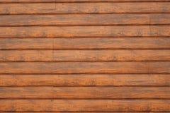 Pared hecha de tablones de madera Textura de madera de la pared foto de archivo libre de regalías
