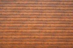 Pared hecha de tablones de madera Textura de madera de la pared fotografía de archivo libre de regalías