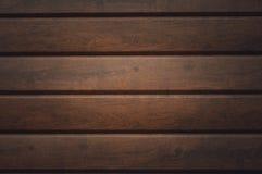 Pared hecha de tablones de madera Textura de madera de la pared imágenes de archivo libres de regalías