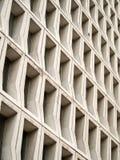 Pared hueco del bloque de cemento Imagen de archivo