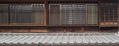 Pared japonesa de la tradición Imagen de archivo
