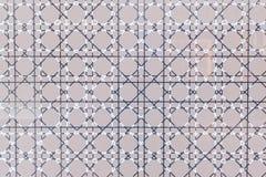 Pared ligera retroiluminada con la línea de rejilla compleja textura Fotografía de archivo libre de regalías