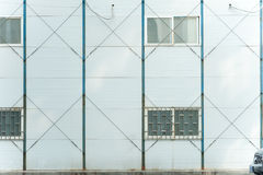 Pared móvil industrial del sitio Fotografía de archivo