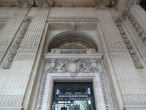 Pared magnífica Deco de Palais Imagenes de archivo