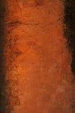 Pared marrón antigua. Imagenes de archivo