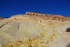 Pared multicolora de la roca, s Utah Imágenes de archivo libres de regalías